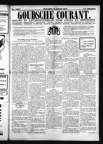 Goudsche Courant 1934-01-10