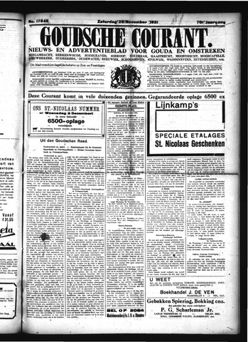 Goudsche Courant 1931-11-28
