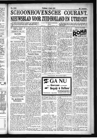 Schoonhovensche Courant 1927-06-03