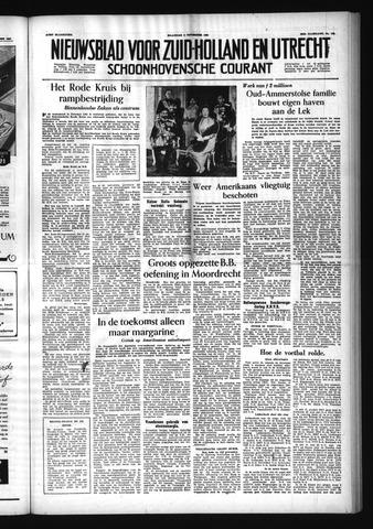 Schoonhovensche Courant 1954-11-08
