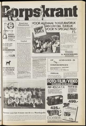 Dorpskrant 1987-09-30