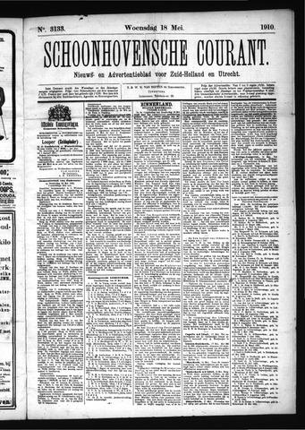 Schoonhovensche Courant 1910-05-18