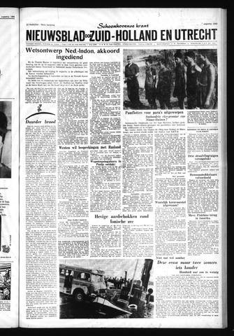 Schoonhovensche Courant 1962-08-29