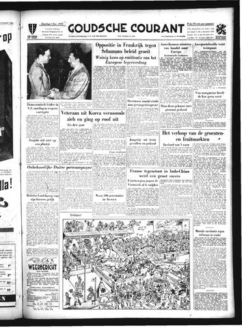 Goudsche Courant 1952-11-01