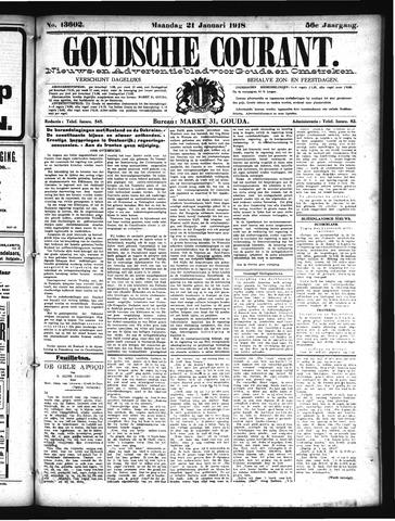 Goudsche Courant 1918-01-21