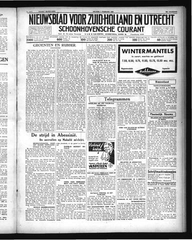 Schoonhovensche Courant 1936-02-07