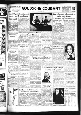 Goudsche Courant 1954-11-24