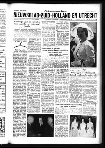 Schoonhovensche Courant 1959-08-05