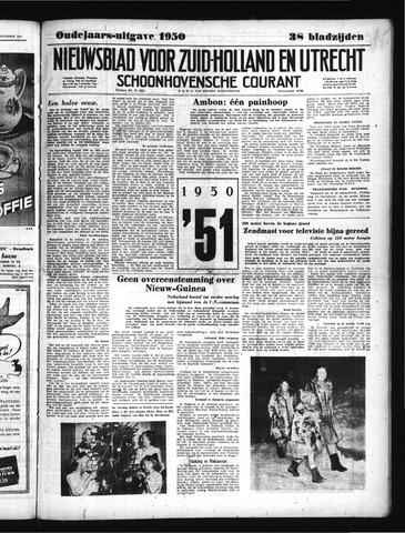 Schoonhovensche Courant 1950-12-29