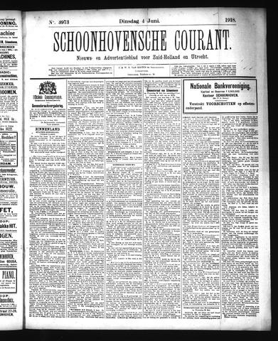Schoonhovensche Courant 1918-06-04