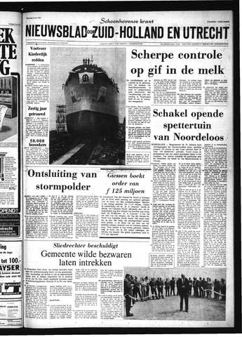 Schoonhovensche Courant 1973-07-09