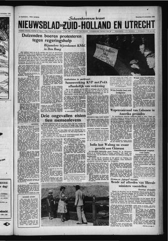 Schoonhovensche Courant 1962-11-19