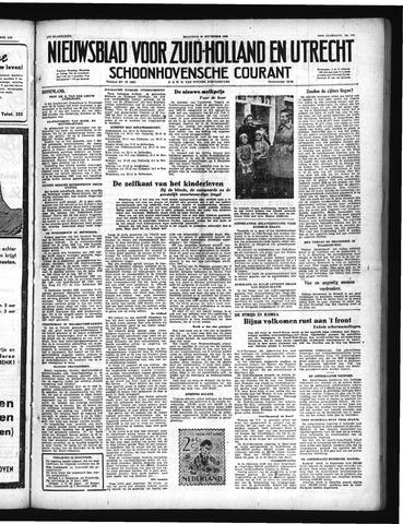 Schoonhovensche Courant 1950-11-20