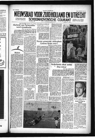 Schoonhovensche Courant 1955-11-07