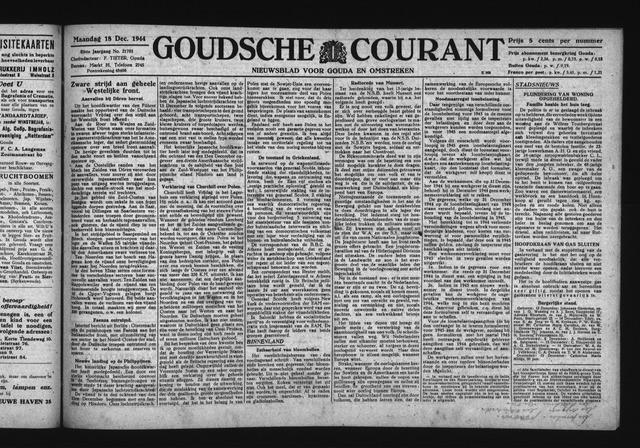 Goudsche Courant 1944-12-18