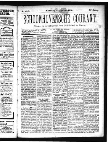 Schoonhovensche Courant 1920-08-23