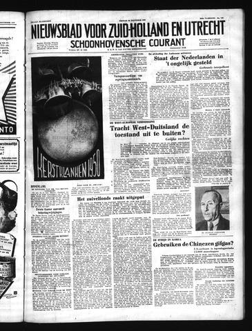Schoonhovensche Courant 1950-12-22