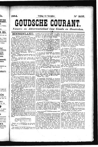 Goudsche Courant 1884-11-14