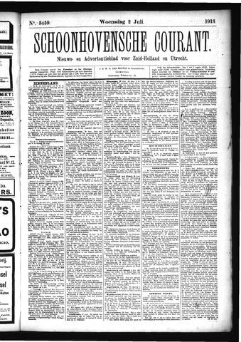 Schoonhovensche Courant 1913-07-02