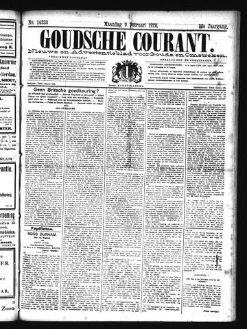 Goudsche Courant 1920-02-09