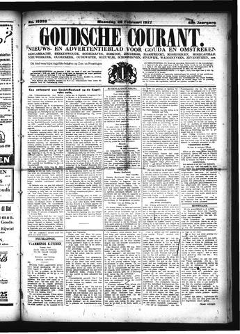 Goudsche Courant 1927-02-28
