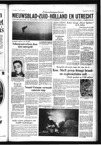 Schoonhovensche Courant 1968-01-22
