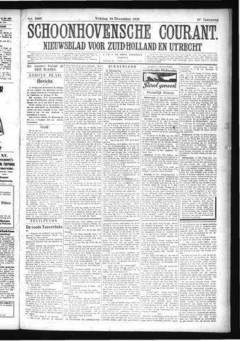 Schoonhovensche Courant 1925-12-18