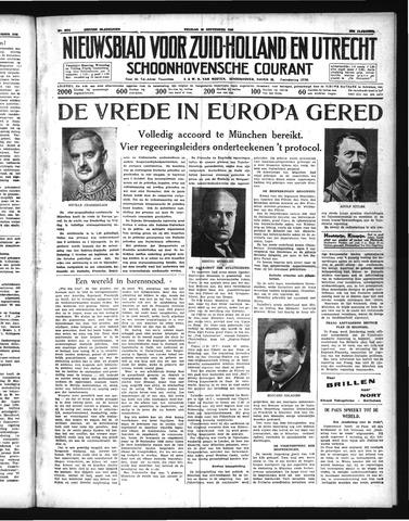 Schoonhovensche Courant 1938-09-30