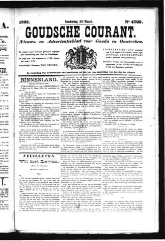 Goudsche Courant 1892-03-24