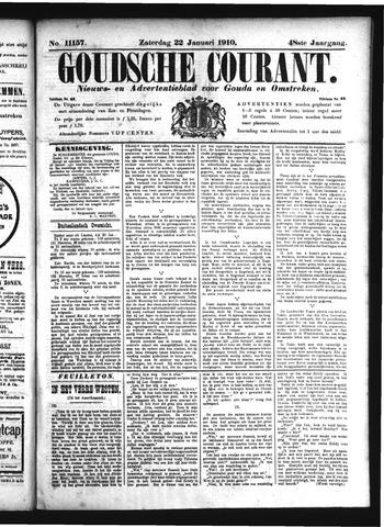 Goudsche Courant 1910-01-22