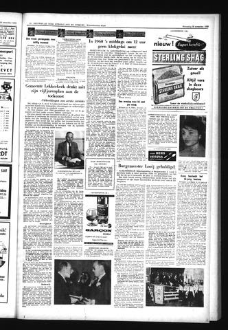 Schoonhovensche Courant 1959-11-26