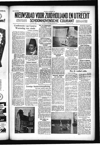 Schoonhovensche Courant 1955-11-14