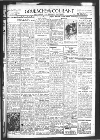 Goudsche Courant 1944-08-10