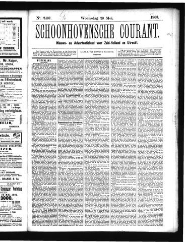 Schoonhovensche Courant 1903-05-20