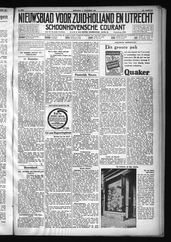 Schoonhovensche Courant 1931-11-11