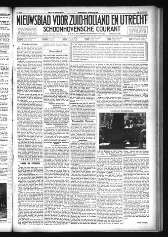 Schoonhovensche Courant 1933-08-09
