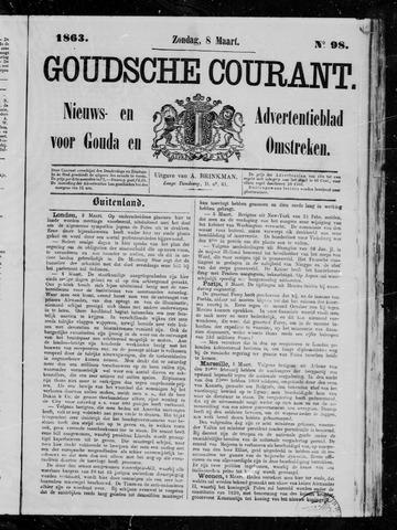 Goudsche Courant 1863-03-08