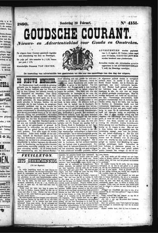 Goudsche Courant 1890-02-20