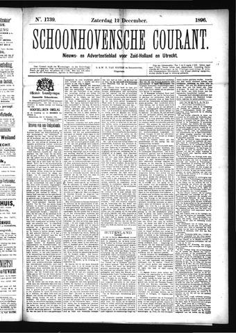 Schoonhovensche Courant 1896-12-12