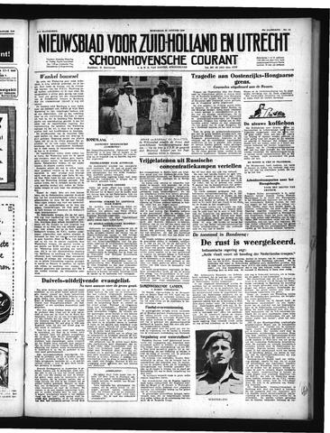 Schoonhovensche Courant 1950-01-25