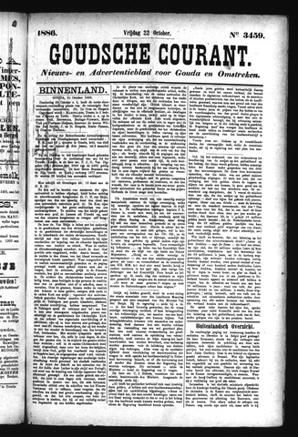 Goudsche Courant 1886-10-22