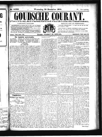 Goudsche Courant 1919-12-10