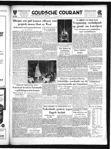 Goudsche Courant 1959-01-14