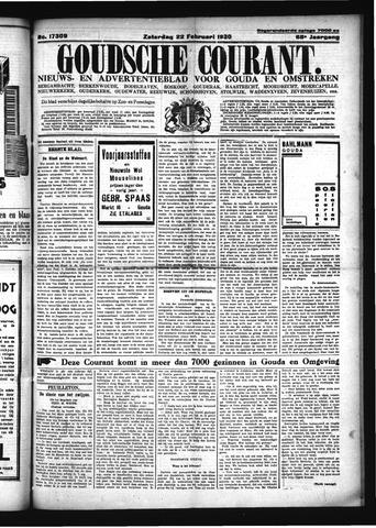 Goudsche Courant 1930-02-22