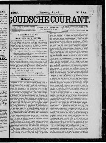 Goudsche Courant 1865-04-06
