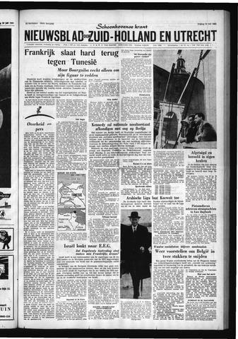 Schoonhovensche Courant 1961-07-21