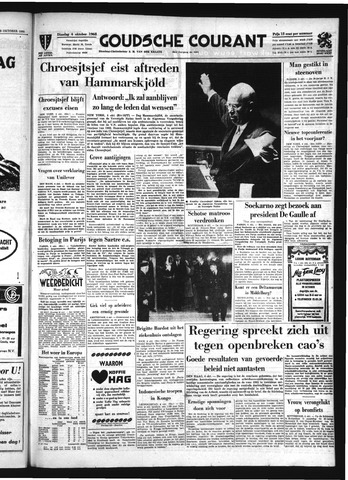 Goudsche Courant 1960-10-04