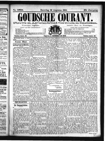 Goudsche Courant 1911-08-12
