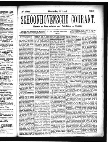 Schoonhovensche Courant 1899-06-28
