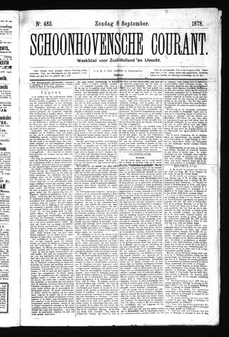 Schoonhovensche Courant 1878-09-08
